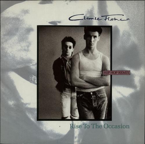 Climie Fisher Rise To The Occasion (Hip Hop Remix) 1987 Dutch 12 vinyl K0602021846