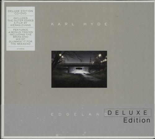 Karl Hyde Edgeland  Deluxe Edition 2013 UK 2disc CDDVD set 3729839