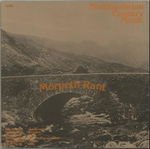 VariousFolk Morpeth Rant 1975 UK vinyl LP 12TS267