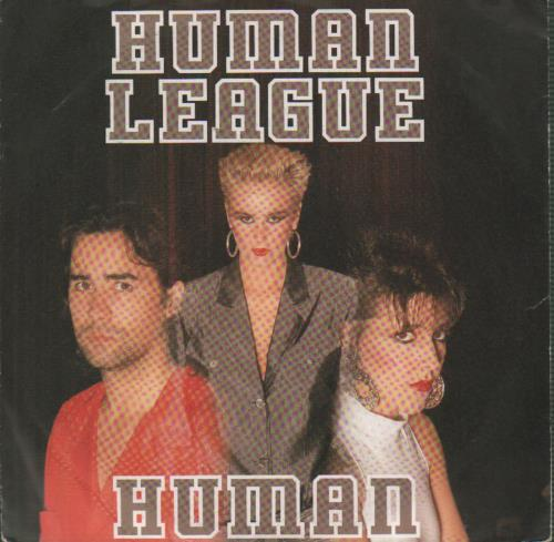 Human League Human  German pressing 1986 German 7 vinyl 108290