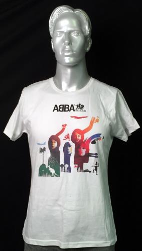 Image of Abba ABBA: The Album - XL 2013 Swedish t-shirt XL T-SHIRT