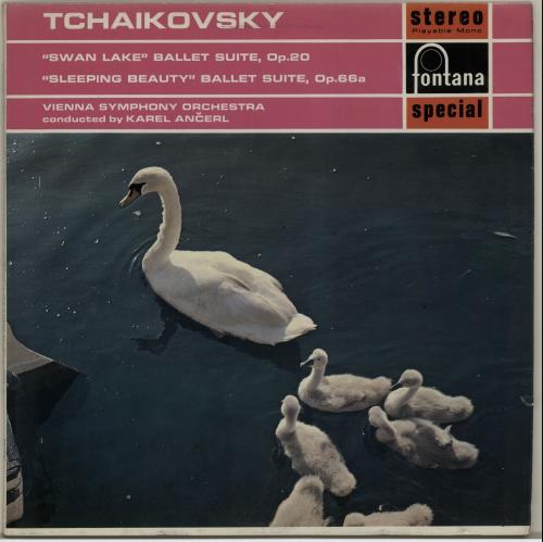 Pyotr Ilyich Tchaikovsky Swan Lake  The Sleeping Beauty UK vinyl LP SFL14054