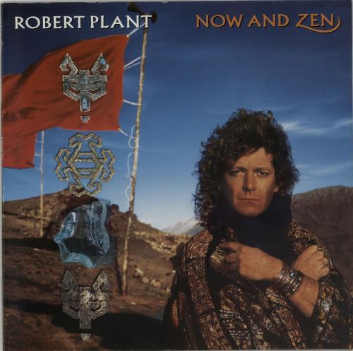 Robert Plant Now And Zen  Programme 1988 UK vinyl LP WX149