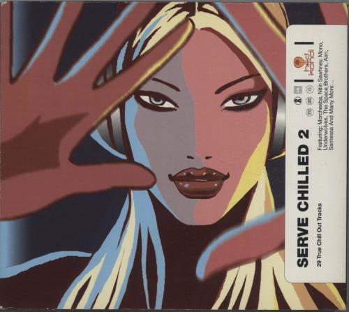 Hed Kandi Serve Chilled 2 2000 UK 2CD album set HEDK009