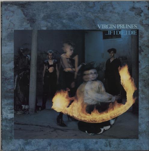 Virgin Prunes ...If I Die I Die 1982 UK vinyl LP ROUGH49