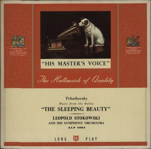 Pyotr Ilyich Tchaikovsky The Sleeping Beauty 1950 UK vinyl LP ALP1002
