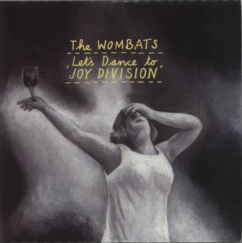 The Wombats Lets Dance To Joy Division 2007 UK CD single PR017004