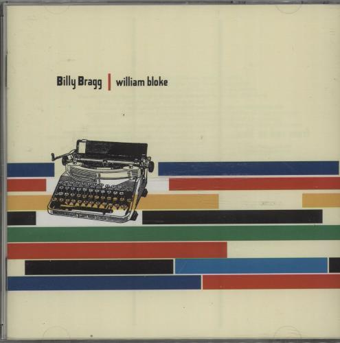 Billy Bragg William Bloke 1996 UK CD album COOKCD100 lowest price
