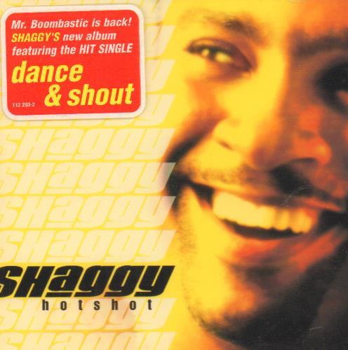 Shaggy Hotshot 2000 German CD album 112293-2 lowest price