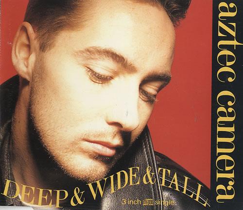 Aztec Camera Deep Wide & Tall 1988 UK 3 CD single YZ154CD