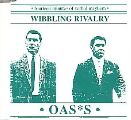 Oasis Wibbling Rivalry Interview CD 1995 UK CD single NING12CD