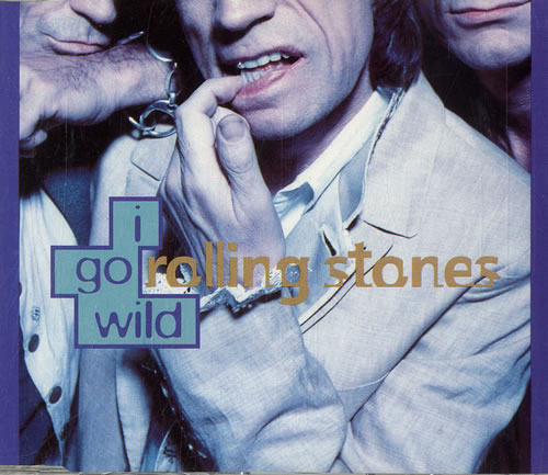 Rolling Stones I Go Wild 1995 Dutch CD single 8929092VSCDT1