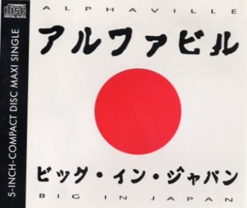 Alphaville Big In Japan 92  White Sleeve 1992 German CD single 9031764532