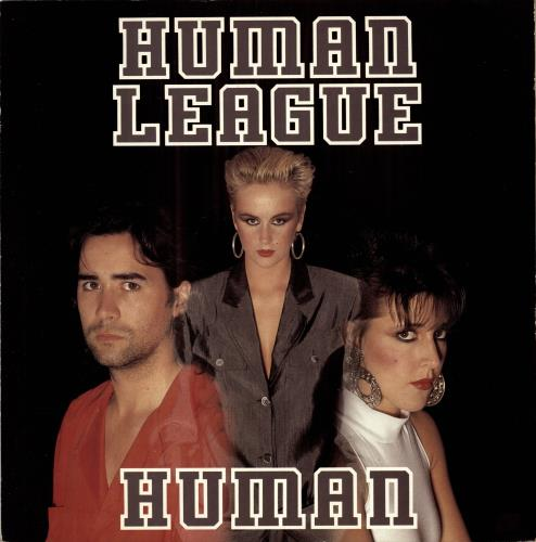 Human League Human 1986 UK 12 vinyl VS88012