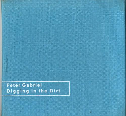 Peter Gabriel Digging The Dirt  Blue Linen Box 1992 UK CD single PGSDX7