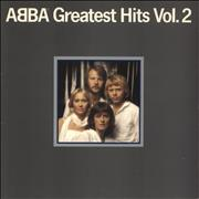 Abba Greatest Hits Vol. 2 vinyl LP UNITED KINGDOM