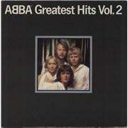 Abba Greatest Hits Vol. 2 vinyl LP NETHERLANDS