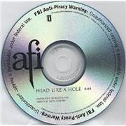 AFI Head Like A Hole CD-R acetate USA