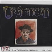 And You Will Know Us By The Trail Of Dead Instant Live - At The Fillmore, San Francisco, CA 5/25/2005 CD-R acetate USA