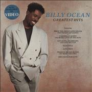 Billy Ocean Greatest Hits - Stickered Sleeve vinyl LP UNITED KINGDOM