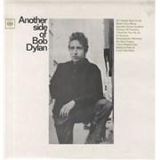 Bob Dylan Another Side Of Bob Dylan - Front Lam vinyl LP UNITED KINGDOM