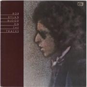 Bob Dylan Blood On The Tracks - 1st - VG vinyl LP UNITED KINGDOM