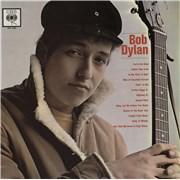 Bob Dylan Bob Dylan - misprint label - mono picture sleeve vinyl LP UNITED KINGDOM