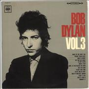 Bob Dylan Bob Dylan Vol. 3 - VG vinyl LP JAPAN