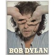 Bob Dylan Bob Dylan tour programme UNITED KINGDOM