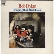 Bob Dylan Bringing It All Back Home - Transitional - Mono vinyl LP UNITED KINGDOM