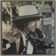 Bob Dylan Desire - Stickered P/S - EX vinyl LP UNITED KINGDOM