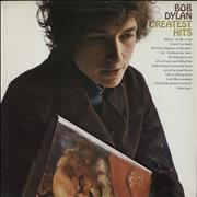 Bob Dylan Greatest Hits - Red Label vinyl LP UNITED KINGDOM