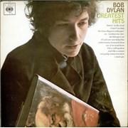 Bob Dylan Greatest Hits vinyl LP UNITED KINGDOM