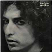 Bob Dylan Hard Rain vinyl LP UNITED KINGDOM