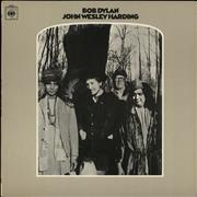 Bob Dylan John Wesley Harding - 1st - EX vinyl LP UNITED KINGDOM
