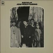 Bob Dylan John Wesley Harding - 2nd - EX vinyl LP UNITED KINGDOM