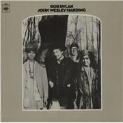 Bob Dylan John Wesley Harding - 2nd vinyl LP UNITED KINGDOM