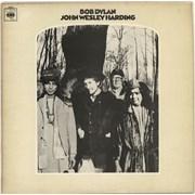 Bob Dylan John Wesley Harding vinyl LP UNITED KINGDOM