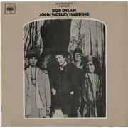 Bob Dylan John Wesley Harding vinyl LP AUSTRALIA