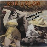 Bob Dylan Knocked Out Loaded vinyl LP UNITED KINGDOM