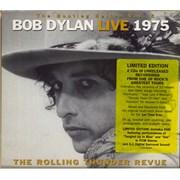 Bob Dylan Live 1975 : The Rolling Thunder Revue 3-CD set UNITED KINGDOM