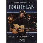 Bob Dylan Live Transmissions 3-disc CD/DVD Set UNITED KINGDOM