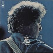 Bob Dylan More Bob Dylan Greatest Hits - 1st 2-LP vinyl set UNITED KINGDOM