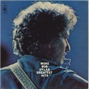 Bob Dylan More Bob Dylan Greatest Hits - 2nd 2-LP vinyl set UNITED KINGDOM