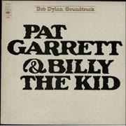 Bob Dylan Pat Garrett & Billy The Kid - 2nd vinyl LP UNITED KINGDOM