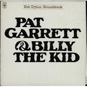 Bob Dylan Pat Garrett & Billy The Kid - 4th vinyl LP UNITED KINGDOM