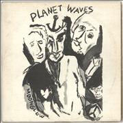 Bob Dylan Planet Waves - 1st + Insert - EX vinyl LP UNITED KINGDOM