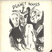 Bob Dylan Planet Waves vinyl LP USA