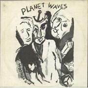 Bob Dylan Planet Waves vinyl LP UNITED KINGDOM