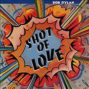 Bob Dylan Shot Of Love vinyl LP UNITED KINGDOM